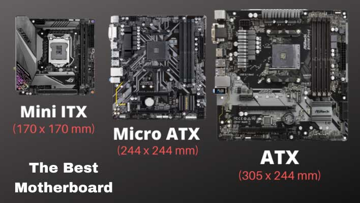 ATX and Micro ATX Motherboard