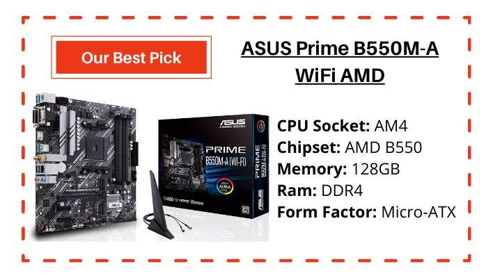ASUS Prime B550M-A Wi-Fi