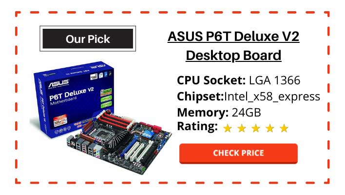 ASUS P6T Deluxe V2 Desktop Board