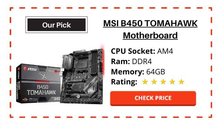 Best budget gaming Motherboard for Ryzen 7 2700X