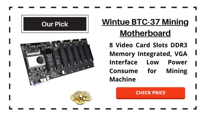 Winute BTC-37 Mining Motherboard