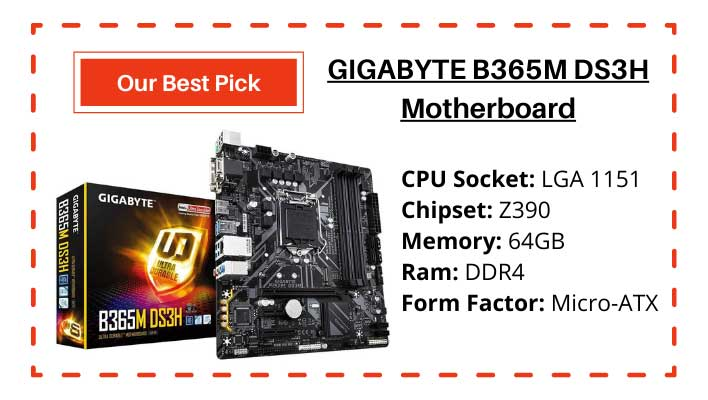 B365M DS3H Motherboard
